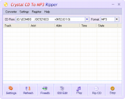 Crystal CD To MP3 Ripper