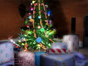 3D Merry Christmas Screensaver