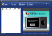 Wondershare Flash to Zune Converter