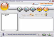 Removable media data recovery software