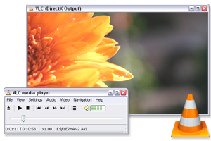 VLC Media Player Windows 7 Screenshot
