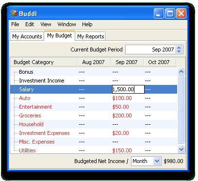 budget for windows