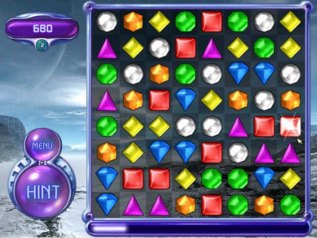 play bejeweled free on yahoo