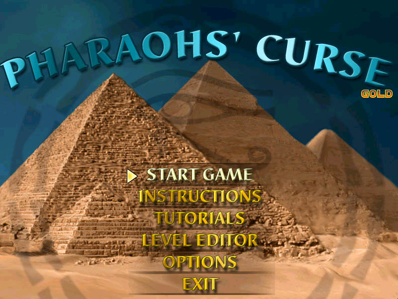 pharaohs gold crossword
